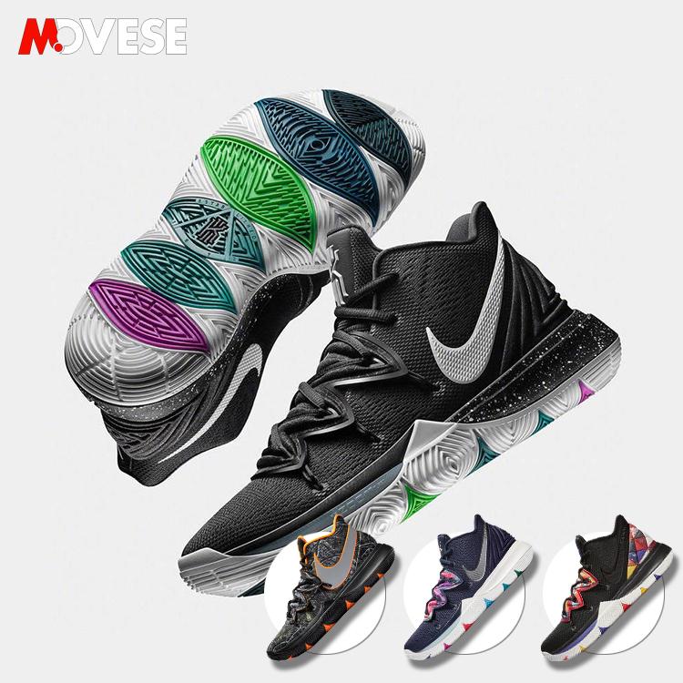 Nike Kyrie 5笑脸欧文5代新年男子黑白首发实战篮球鞋AO2919-901