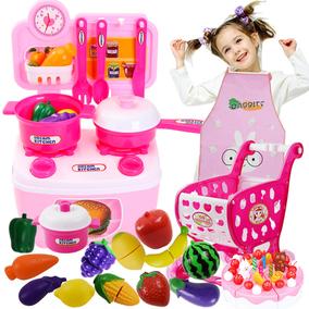 北美玩具儿童过家家厨房玩具1-2-3岁做饭煮饭厨具男女孩仿真餐具