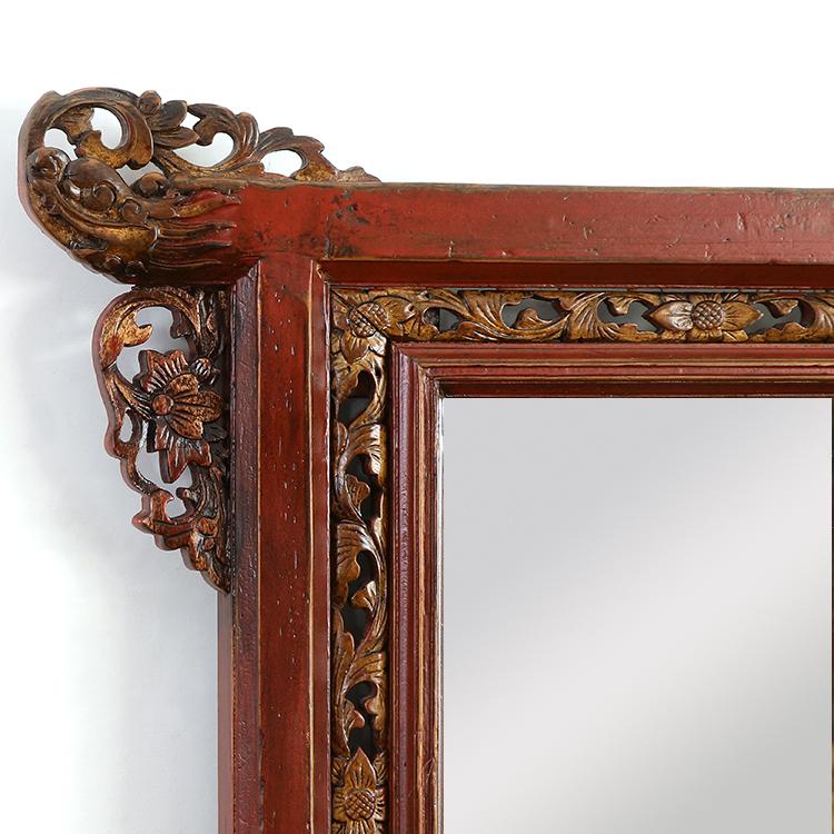 古董清代老家具面盆架明清古典衣架置物架中式实木脸盆架洗脸架子
