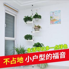 花架铁艺多层落地客厅悬挂阳台多肉吊兰简约室内壁挂花盆架子HJ2
