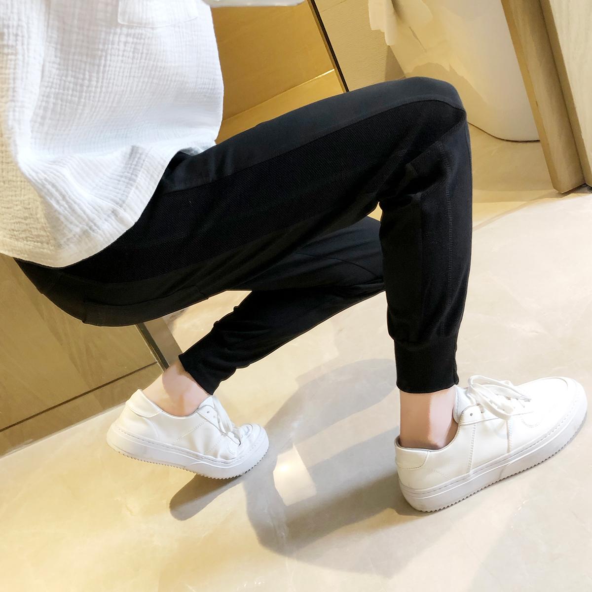 休闲裤女小脚裤显瘦