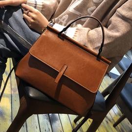 包包女包新款2019潮时尚高级感法国小众洋气贝壳包真皮手提斜挎包图片