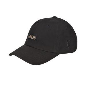 NBA STYLE潮流服饰 湖人队时尚百搭弯檐帽子 棒球帽