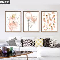 花期常驻客厅风景花卉手工填色油彩装饰画diy数字油画自油自画