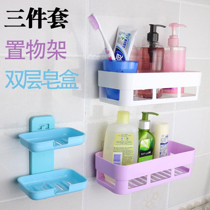 壁挂卫生间置物架浴洗澡