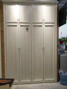 铝合金边框实木衣柜门酒柜鞋柜橱柜实木平开门衣柜推拉门移门