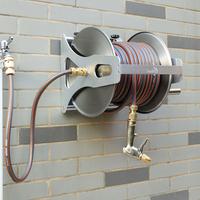 金属洗车水抢套装高压水枪头浇花软管家用挂式水管收纳架车卷管器