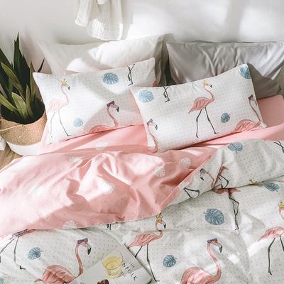小清新纯棉床单套是什么档次