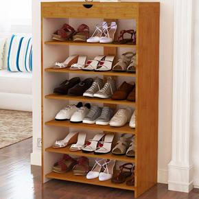 简易鞋架家用家里人组装多层寝室宿舍布艺收纳鞋架防尘鞋柜经济型