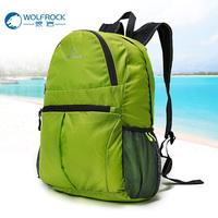 狼岩皮肤包 户外男女款超轻旅游包可折叠包 双肩背包防水便携