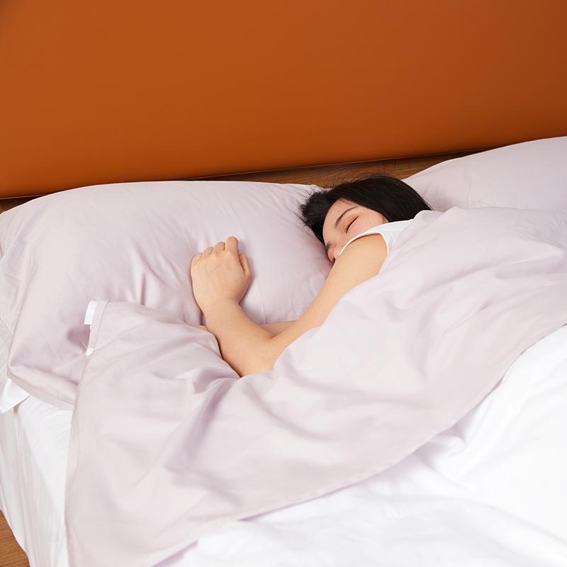 大朴A类酒店隔脏睡袋纯棉60支单双人便携式出差宾馆神器旅行床单