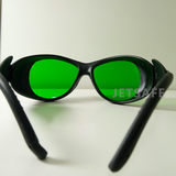 Red blue green hand-held laser dazzle glare protective glasses riot-proof lightning goggles