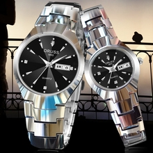韩版手表防水男女士情侣学生日历休闲夜光石英表超薄全自动机械表