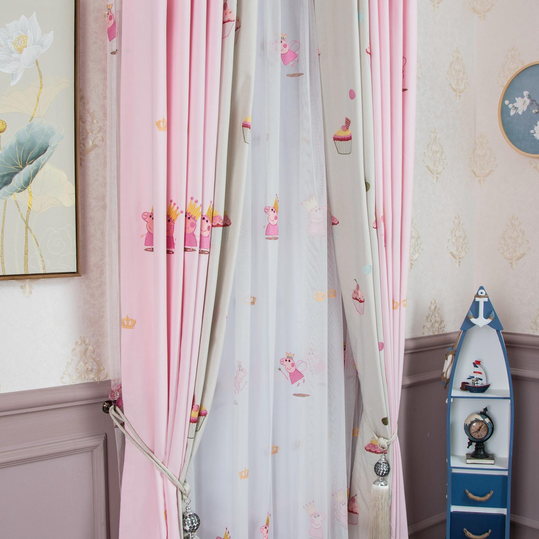 纯棉窗帘布料面料