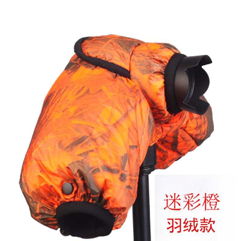 佰卓 羽绒微单防寒罩 微单相机保温套防寒摄影 适用佳能索尼A6000 A6300 A6500 A7M2 M3 A9 M3M5 M6M10保暖套