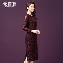 縷空連衣裙