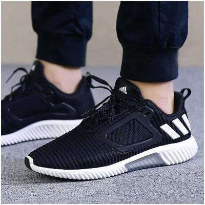 阿迪达斯男鞋清风系列跑步鞋2018夏季新款小椰子网面透气运动跑鞋