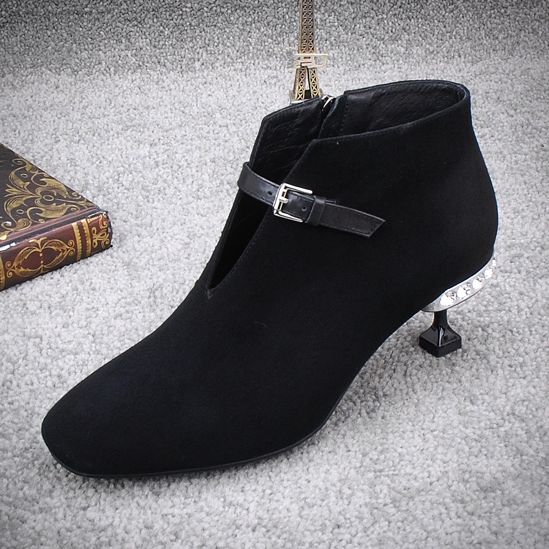 女鞋春方口