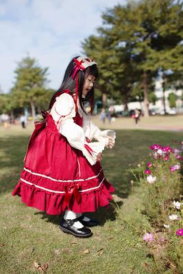 童装洋装Lolita 洛丽塔儿童公主裙女童连衣裙小礼服走秀蓬蓬裙