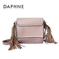 Daphne/达芙妮时尚简约小方包 女士百搭单肩斜挎包女包包