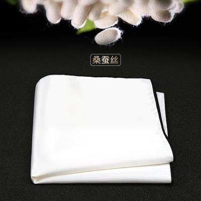 男士结婚袋巾西装手帕真丝口袋巾西服方巾新郎手帕巾白色胸口巾