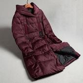 保暖含白鸭绒 版羽绒服过膝加长款 专柜高端女装 冬季新款 J0Y59