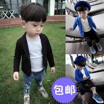 儿童西装套装男童花童礼服钢琴演出服中大童韩版小孩西服外套夏季