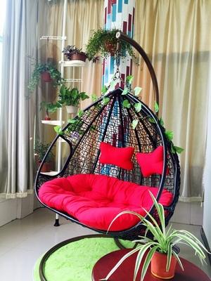双人吊篮/吊椅/沙发/摇床/吊床/家具鸟巢/藤艺阳台椅室内/外摇篮