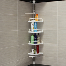 Corner rack of Youlite bathroom, non-perforated stainless steel toilet, floor triangle receptive wall and corner rack