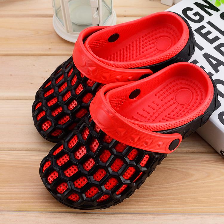 夏季新款洞洞鞋运动鸟巢鞋男士鞋子情侣沙滩鞋休闲跑鞋透气潮凉鞋