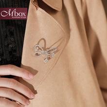Mbox胸针女别针扣外套大衣毛衣装 简约时尚 饰个性 气质百搭胸花配饰