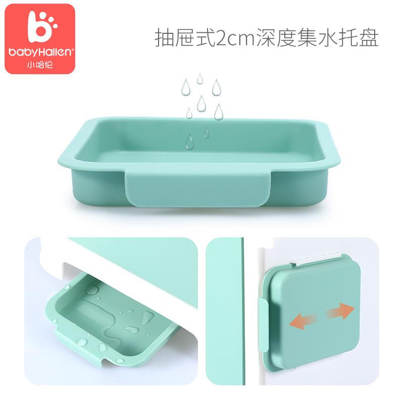 小哈伦奶瓶收纳箱婴儿宝宝便携外出大号奶粉盒餐具储存沥水晾干架
