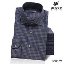 衬衫 QW17106 羊毛长袖 雅戈尔正品 男士 衬衣秋冬新款 专柜980元