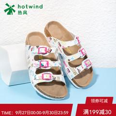 女式软木拖鞋