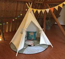 印第安儿童纯棉布室内帐篷 儿童游戏帐篷 影楼儿童摄影道具帐篷