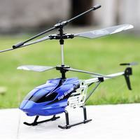 Alloy remote control aircraft resistant to helicopter charging mobile boy child model toy aircraft drone aircraft