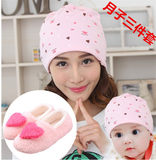 Autumn and winter moon shoes moon hat maternity socks winter post-partum moon supplies maternity shoes to thicken the new