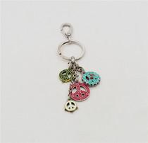 韩版百搭女式银首饰品爱心钻幸运珠猫眼石吊坠送项链多款可选