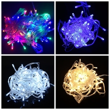 Led colour lamp flashlight string waterproofing of outdoor small colour lamp string