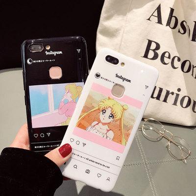 可爱美少女vivox20手机壳x9plus全包软壳X9/X9S创意个性女款潮x7