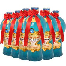 洋河大曲老天蓝38度500ml*6瓶装整箱浓香型白酒粮食送礼收藏