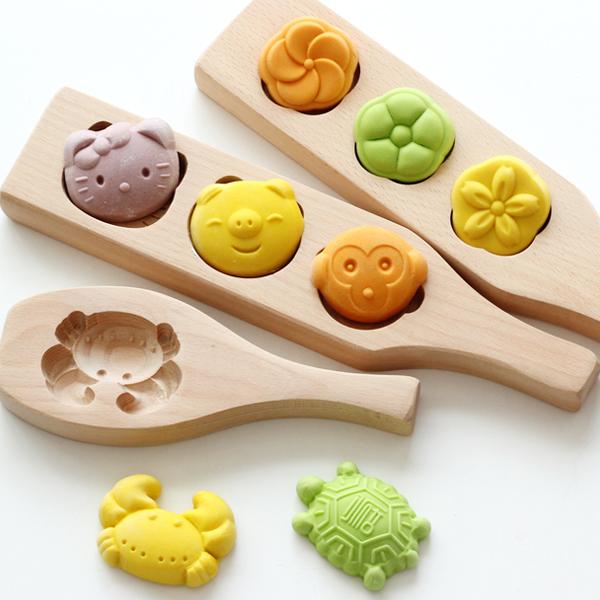 冰皮月饼模具木质