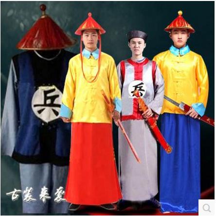 清朝古装服装太监