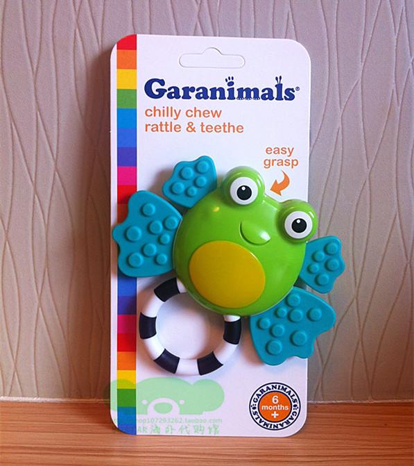 现货美国Garanimals儿童婴幼儿宝宝牙胶固齿器不含bpa