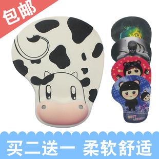 纯橡胶 卡通鼠标垫可爱鼠标垫电脑鼠标垫加大橡胶布鼠标垫护腕