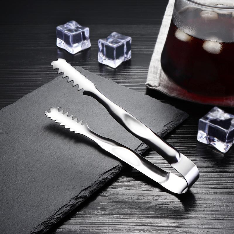 不锈钢加厚冰夹 冰粒冰块水果方糖夹 韩式料理碳烤肉夹食品夹包邮