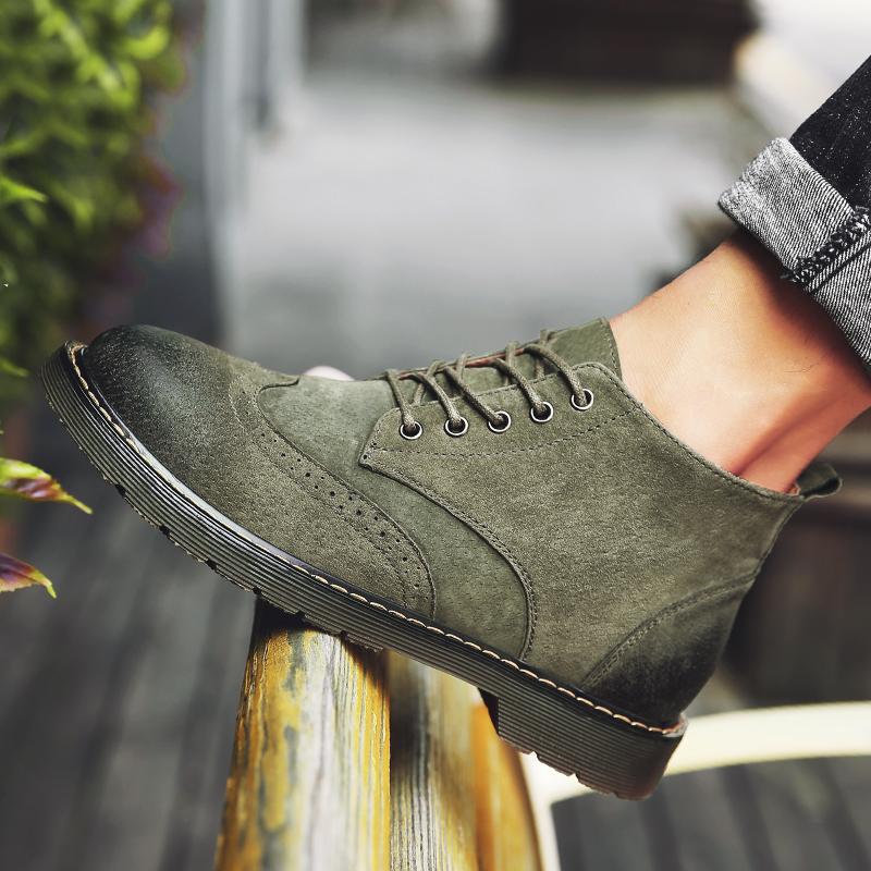 复古男士时尚靴