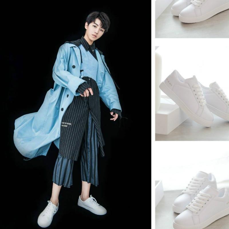 男女 休闲鞋 小白鞋 子板鞋 TF王俊凯生日会同款