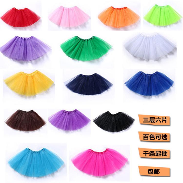 蓬蓬短裙短女童