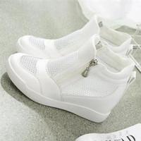 夏季小白鞋高帮